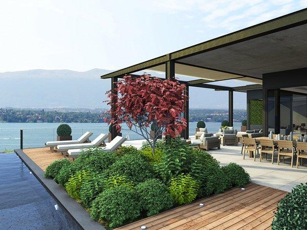 Sale luxury villas in Intragna in the first line